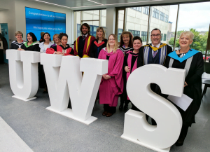 Pictured: UWS School of Business and Enterprise Staff